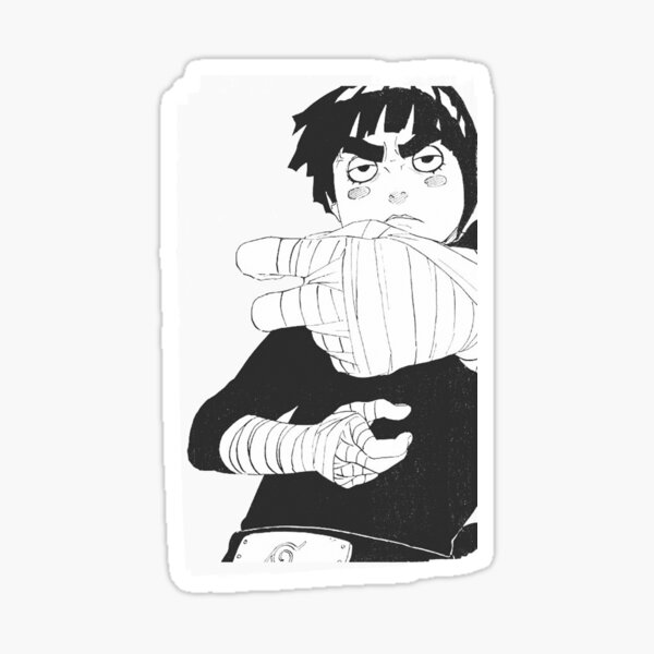 Farewell To The Legend Rock Lee #Cute Sticker