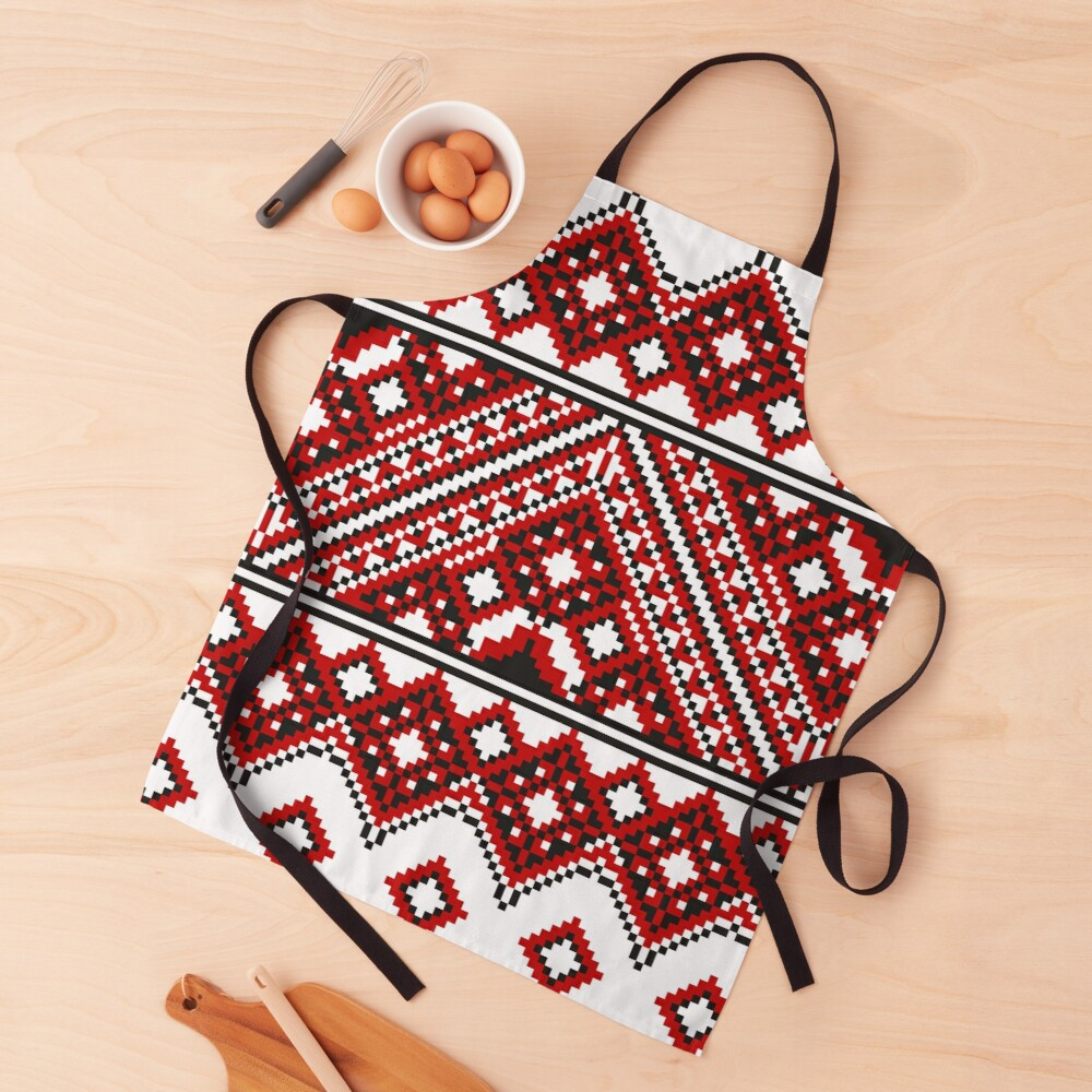 #Ukrainian #Embroidery, #CrossStitch, #Pattern Apron