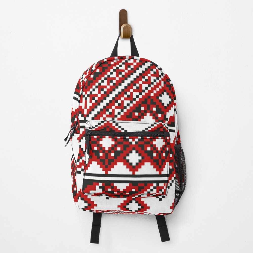 #Ukrainian #Embroidery, #CrossStitch, #Pattern Backpack