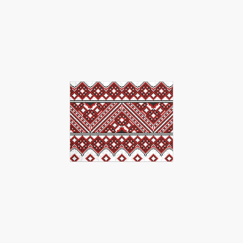 #Ukrainian #Embroidery, #CrossStitch, #Pattern Jigsaw Puzzle