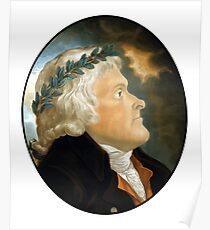Präsident Thomas Jefferson Poster