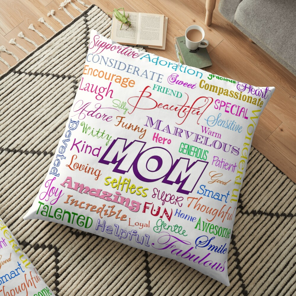 MOM Floor Pillow