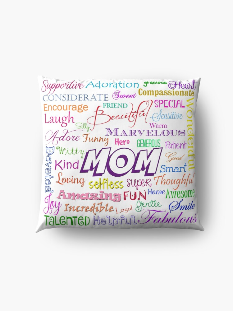 Alternate view of MOM Floor Pillow