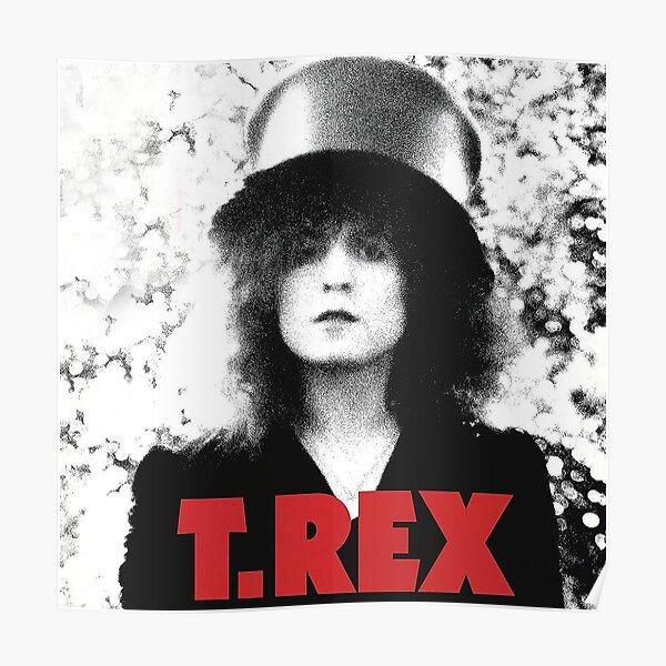T rex Band Poster