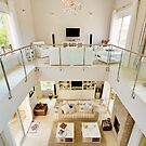 View of balcony & main room from above by Philip  Rogan