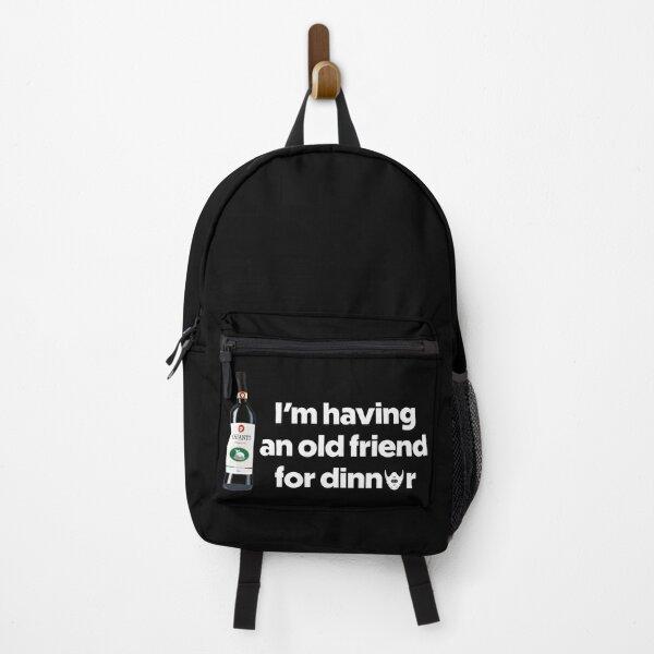 I'm having an old friend for dinner Backpack