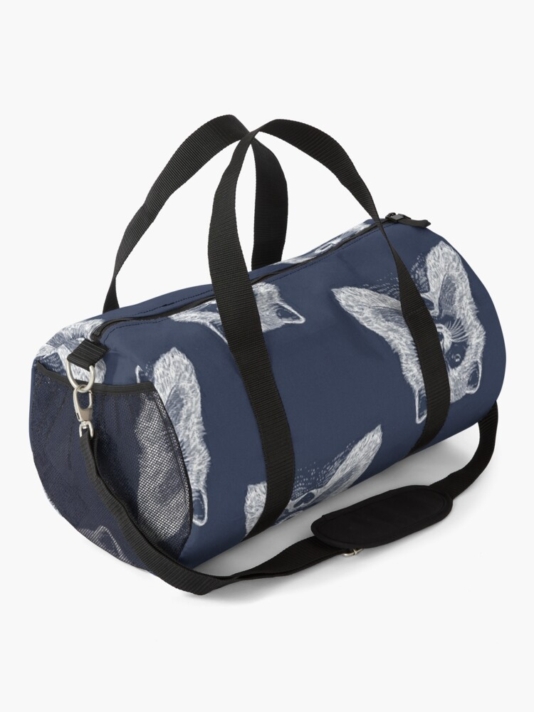 Alternate view of Love Raccoon Duffle Bag