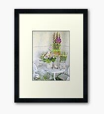 Tipping the Cups Framed Print