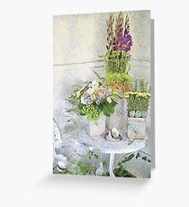 Tipping the Cups Greeting Card