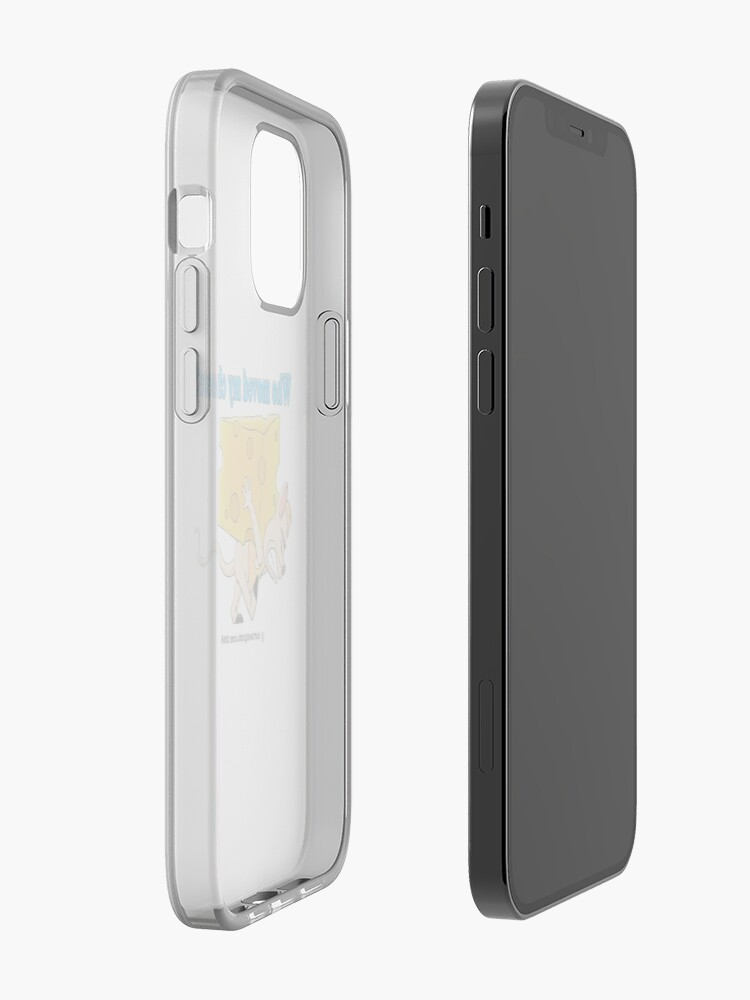 Alternate view of Who Moved My Cheese? iPhone Case & Cover