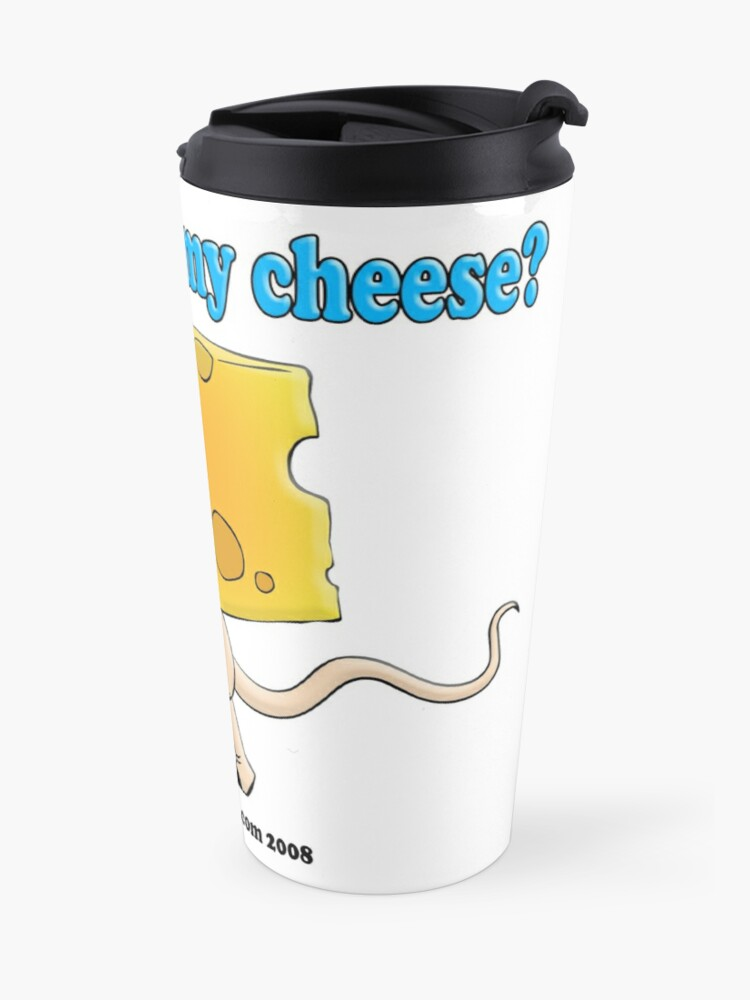 Alternate view of Who Moved My Cheese? Travel Mug