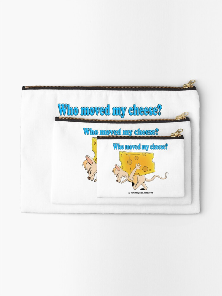 Alternate view of Who Moved My Cheese? Zipper Pouch