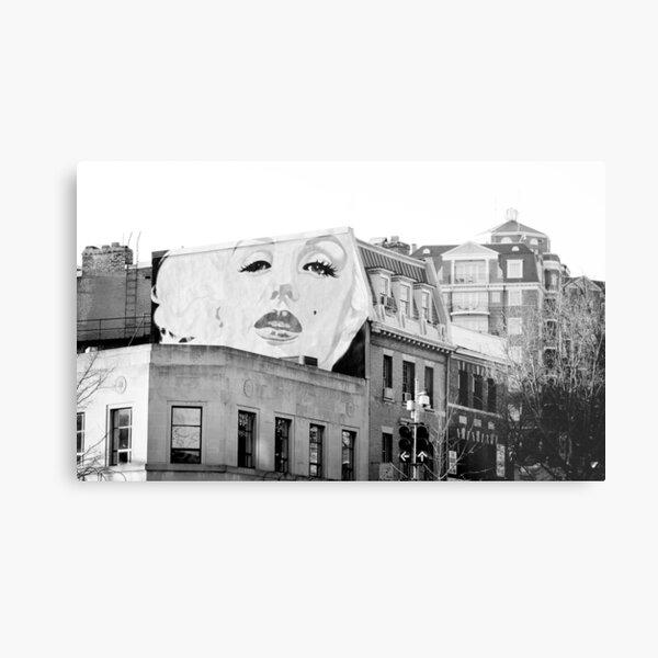Marilyn Monroe Mural, Washington, D.C. Metal Print