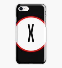 X Files X iPhone Case/Skin