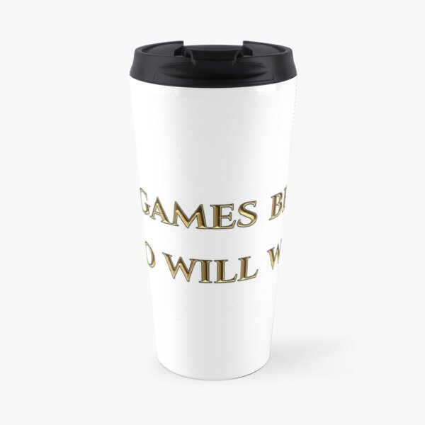 Eternal Myths Quote Travel Mug