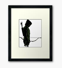 Green Arrow - Oliver Queen Framed Print