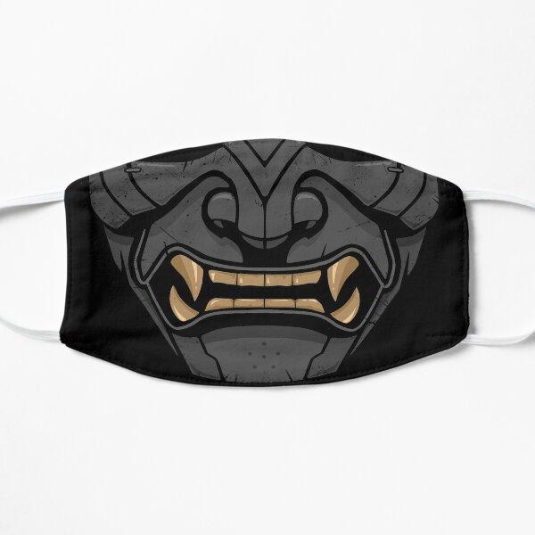 Ghost of Tsushima Samurai Mask Alt Mascarilla plana