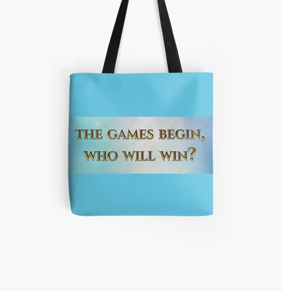 Eternal Myths Quote with Background All Over Print Tote Bag