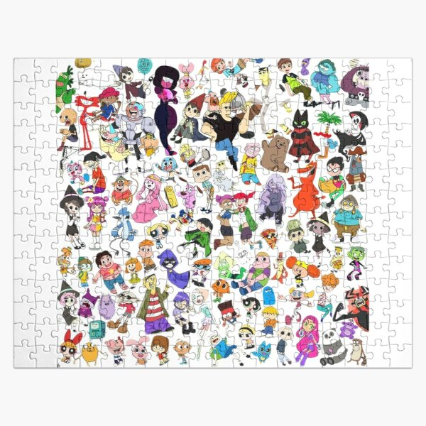 Cartoon Network Jigsaw Puzzle