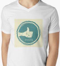 done!!! Men's V-Neck T-Shirt