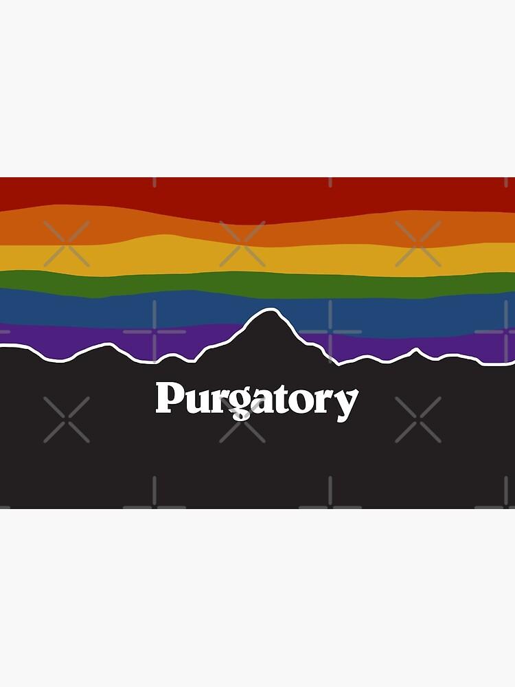 Purgatory Pride Rainbow Sunset - Wynonna Earp by VikingElf