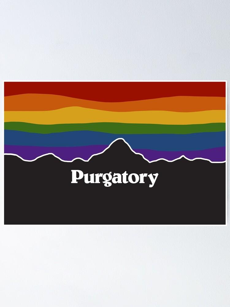Alternate view of Purgatory Pride Rainbow Sunset - Wynonna Earp Poster