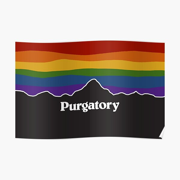 Purgatory Pride Rainbow Sunset - Wynonna Earp Poster