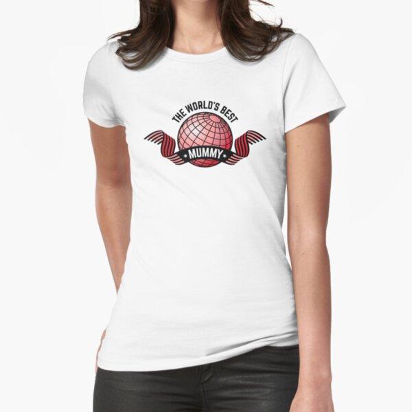 Die beste Mama der Welt Tailliertes T-Shirt