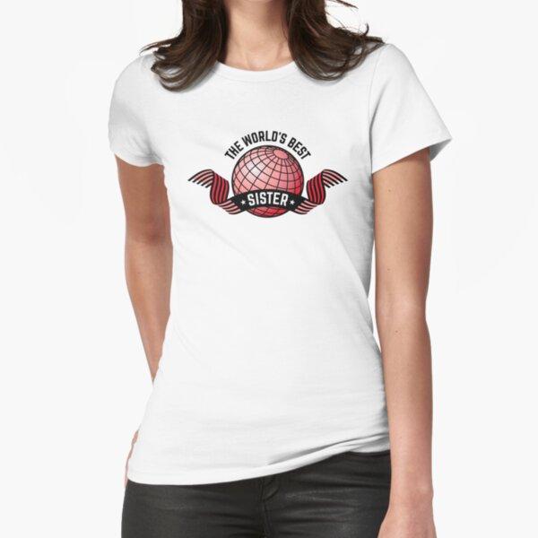 Die beste Schwester der Welt Tailliertes T-Shirt
