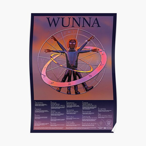 WUNNA POSTER Poster