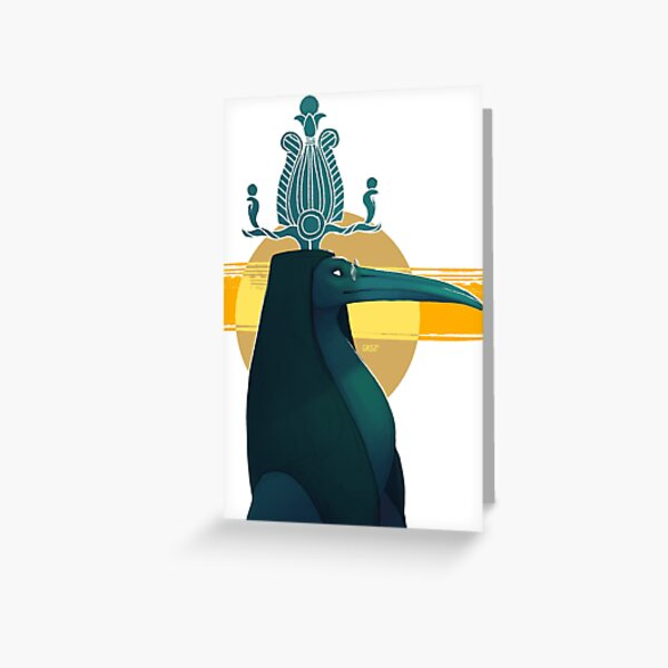 Thoth Epagomenal Portrait Greeting Card