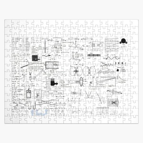 Physics Equations - Physics Formulas Jigsaw Puzzle