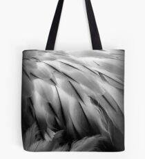 Flamingos Dream in Black and White Tote Bag