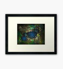 ©DA Fractal Flower I Framed Print