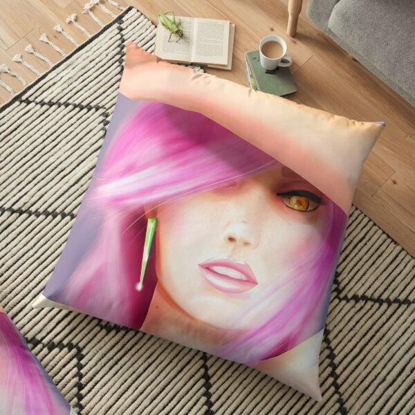 Blinding Light Painting Floor Pillow