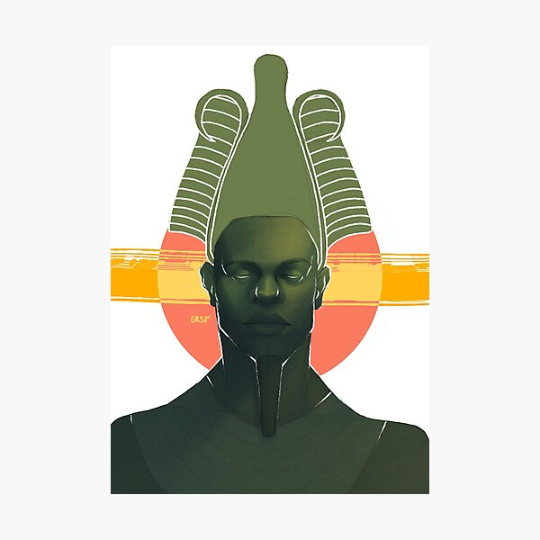 Osiris Epagomenal Portrait Photographic Print