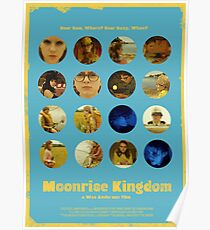 Moonrise Kingdom featuring Suzy Bishop & Sam Shakusky Poster