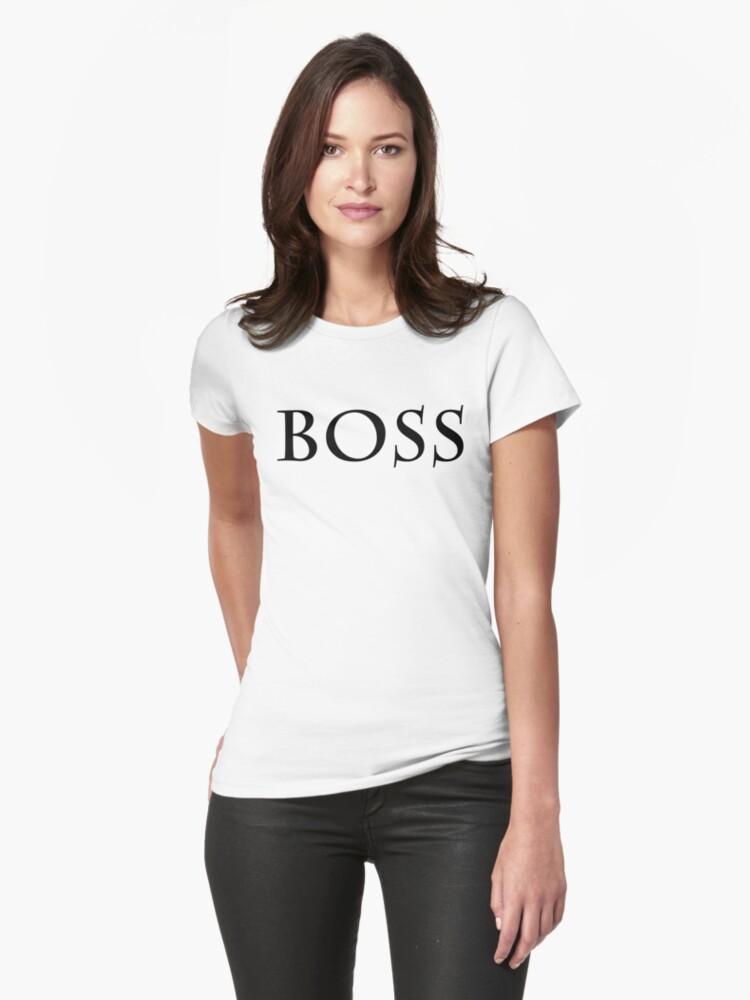 Boss Womens T-Shirt Front
