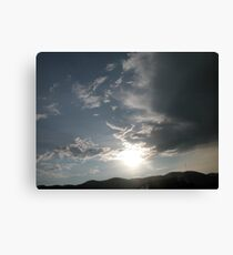 Just over Evergreen CO Canvas Print