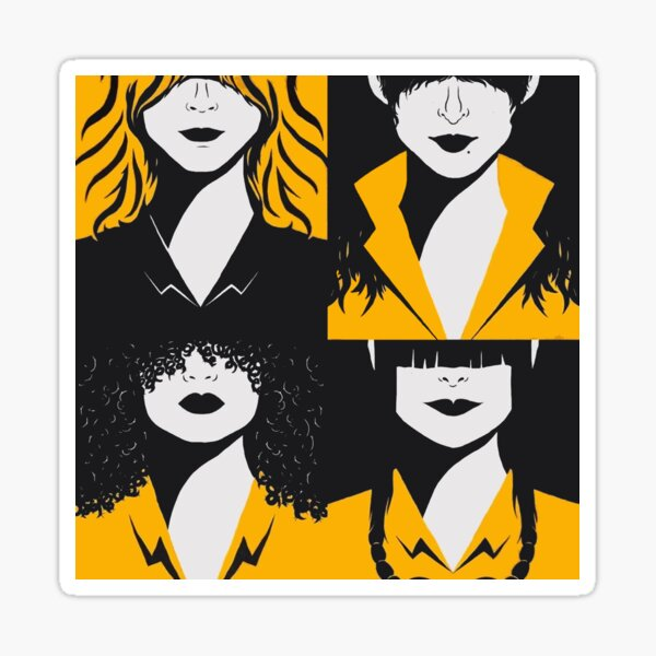 Vis a vis serie netflix Sticker