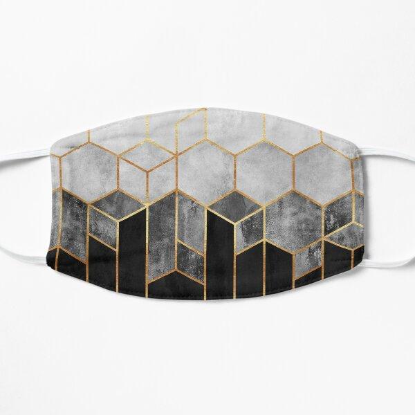 Charcoal Hexagons Mask