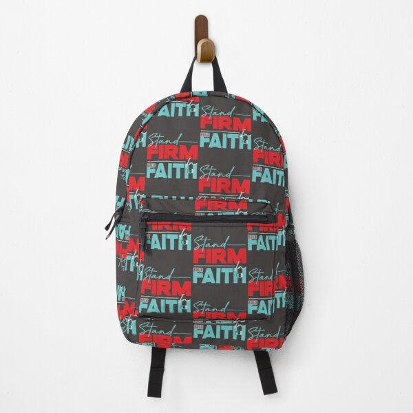 Stand Firm in Faith Backpack