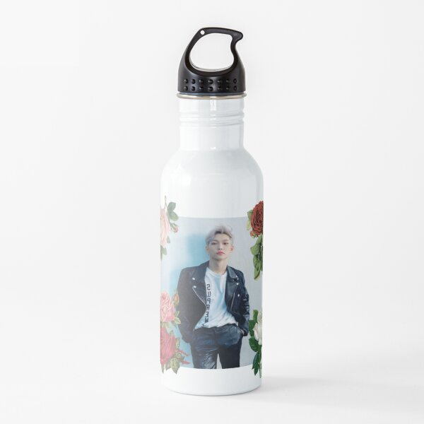 STRAY KIDS - Felix with Roses VINTAGE Cute SKZ Water Bottle