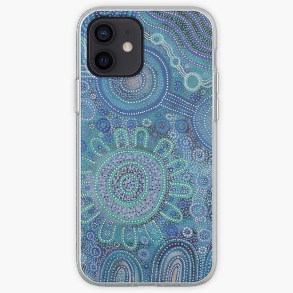 Family gathering at the beach iPhone Soft Case