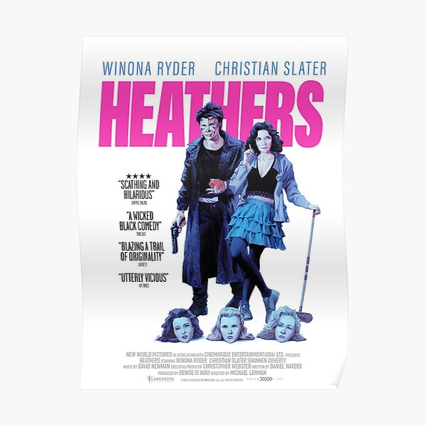 Heathers poster Poster