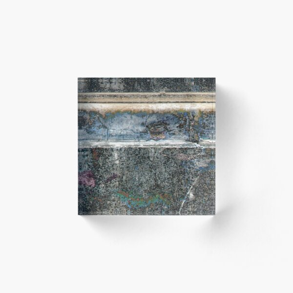 Time on a Wall Acrylic Block