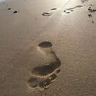 Footprints in the Sand by Ellaaa M