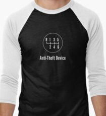 Manual Transmission: Anti-Theft Device Men's Baseball ¾ T-Shirt