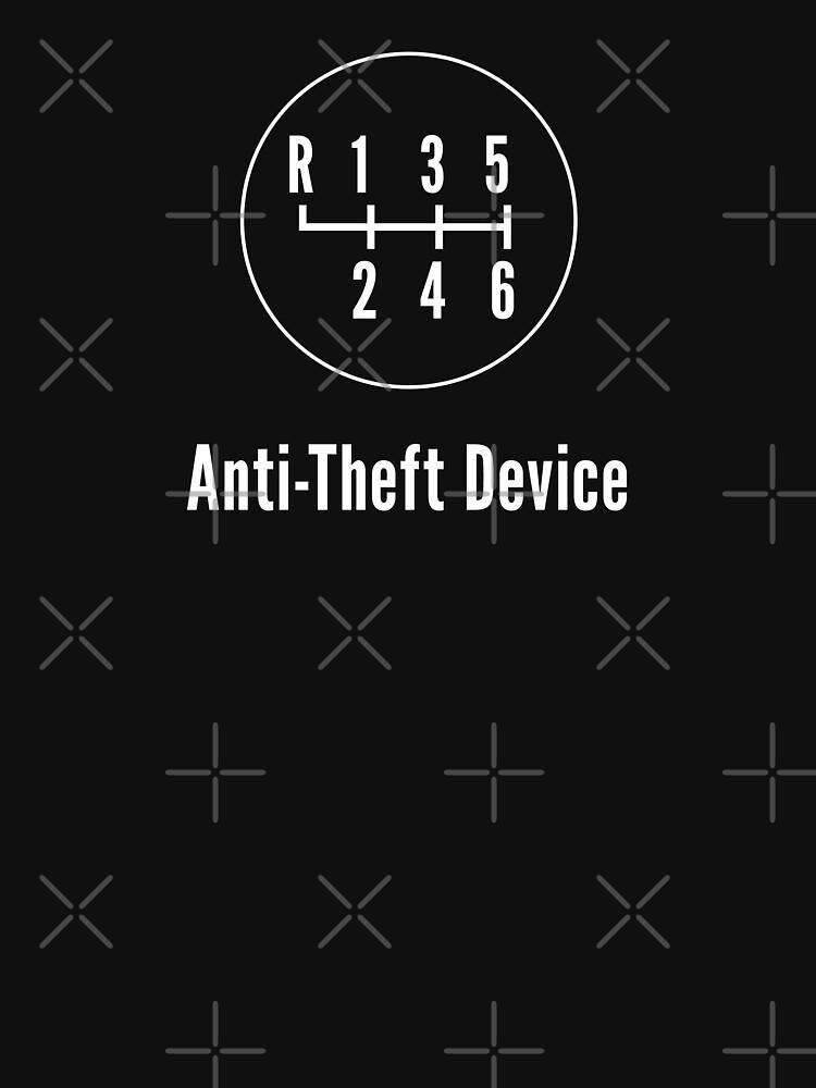 Manual Transmission: Anti-Theft Device | Unisex T-Shirt