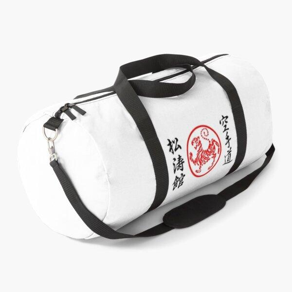 Shotokan Karate Symbol and Kanji Duffle Bag
